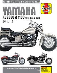 haynes manual 4195 yamaha xvs650 u0026 1100 drag star 97 05 amazon co