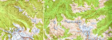 Washington State Topographic Map by The Whatcom Peak Climb