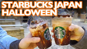 halloween coffee drinks starbucks japan u0027s new halloween mystery flavor youtube