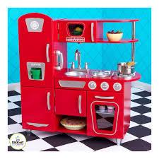 Kidkraft Kitchens Cocina Estilo Retro Kidkraft Rojo Playroom Pinterest Playrooms