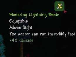 Terraria Blind Fold Lightning Boots Terraria Wiki Fandom Powered By Wikia