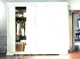 Free Standing Closet With Doors Free Standing Broom Closet Chatel Co