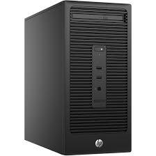 ordinateur hp bureau hp 280 g2 v7q80ea pc de bureau hp sur ldlc com