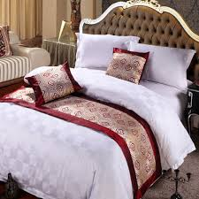bed runners vintage bed runner two layers home hotel bedroom bedding