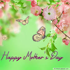 mothers day cards of pink flowers with butterflies u2022 elsoar