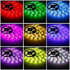 led ribbon battery powered led lights geekeep waterproof