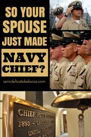 so your husband just made navy chief