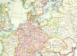 Map Of Central Europe by Jatvingian