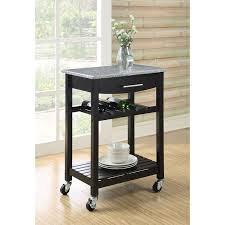 Rolling Kitchen Chairs by Amazon Com Dorel Living Granite Top Kitchen Cart Kitchen U0026 Dining