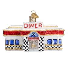diner ornament retro christmas tree ornaments old world