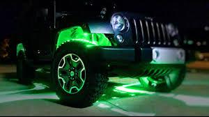 jeep wrangler rock lights how to install rgb rock lights wireless bluetooth jeep jk youtube