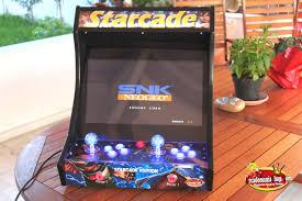 Bar Top Arcade Cabinet Starcade Deluxe Led Edition Bartop Arcade Arcadomania Shop
