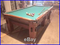 brunswick mission pool table billiards tables blog archive antique mission style brunswick