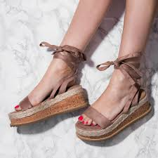 poppy espadrille gladiator sandals shoes mocha suede style