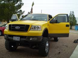 Ford F 150 Yellow Truck - jcabal20 2004 ford f150 regular cab specs photos modification