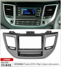 hyundai tucson kit carav 11 612 car radio installation dash install fitting trim kit