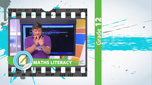 gr 12 maths literacy finance u0026 graphs live youtube