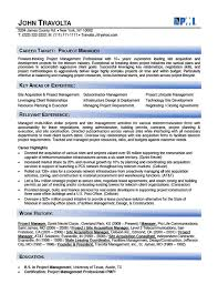 Telecom Project Manager Resume Sample by Resume Samples