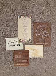 mountain wedding invitations colorado wedding invitations denver wedding invitations