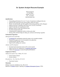 network analyst resume sample resume system analyst sample dalarcon com resume examples business systems analyst frizzigame