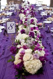 purple wedding centerpieces plum colored wedding centerpieces