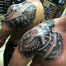 top 80 best biomechanical tattoos for men fine tailored