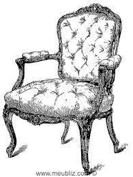 siege capitonné définition d une garniture de tapissier