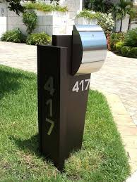 modern mailboxes residentialhome design styling