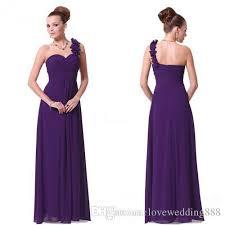 one shoulder wedding dresses generous dress purple bridesmaid dresses a line one shoulder