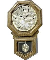 rhythm clock american patriot musical wall clock cmj535ur06