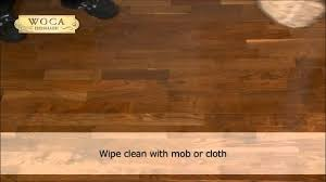 maintain your wooden floor with woca from denmark
