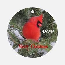 cardinal tree ornament cafepress