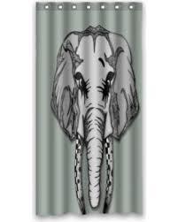 winter sale greendecor cute elephant animal artwork waterproof