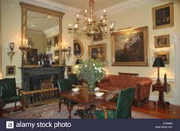 interior of georgian house stock photo royalty free image