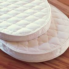 Organic Crib Mattress Pad Certified Organic Oval Crib And Organic Oval Bassinet Mattress