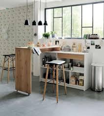 bar dans une cuisine bar cuisine design une cuisine avec un bar pour dner with