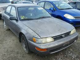1995 toyota corolla station wagon auto auction ended on vin 1nxae09b6sz347656 1995 toyota corolla