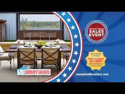 memorial day outdoor furniture sale at sunnyland patio furniture in