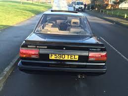 nissan bluebird 1988 nissan bluebird zx turbo fsh 52k 8000 birmingham retro
