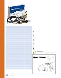 baystar 1 4 steering kit outboard steering seastar solutions