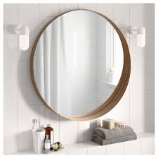 round bathroom mirror with lights artistic ceiling lamp