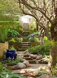 Landscaping Ideas Hillside Backyard Hillside Landscaping Ideas For A Sloped Backyard Sloped