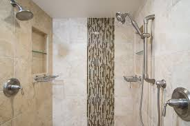 Shower Head In Ceiling by Traditional Master Bathroom With Rain Shower Head By Remodel Works