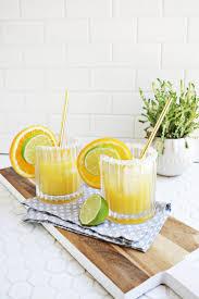 perfect for summer orange mango margarita summer cocktail recipe