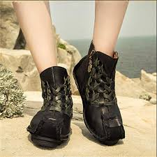 womens boots unique aliexpress com buy handmade genuine leather boots personalized