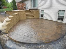 Retaining Wall Patio Retaining Walls Best Concrete Concepts Llc