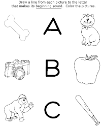 abc pages to print activity letters abc