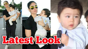 taimur ali khan latest pictures with mom kareena kapoor cute