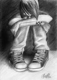 sad 3d sketches of pencil boy sad boy 3d pencil sketch drawing