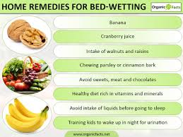 10 effective home remedies for bedwetting organic facts